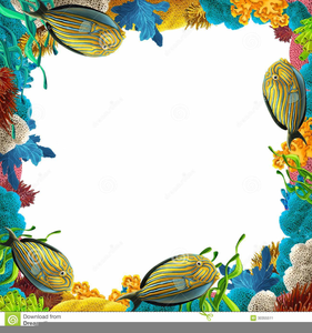 Coral border clipart clip art transparent download Coral Reef Clipart Border   Free Images at Clker.com - vector clip ... clip art transparent download