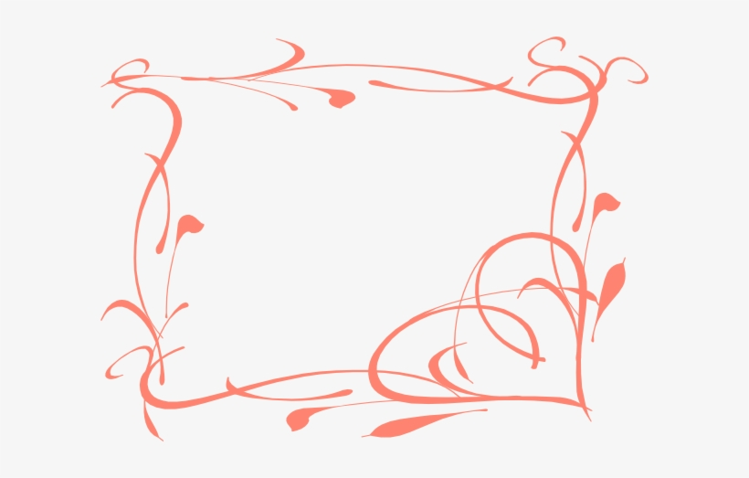 Coral border clipart vector royalty free stock Swirls Clipart Coral - Coral Border Clipart - Free Transparent PNG ... vector royalty free stock