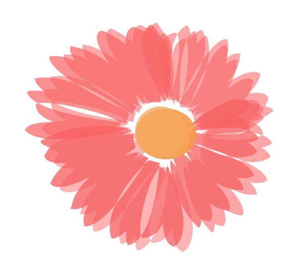 Coral flower clipart