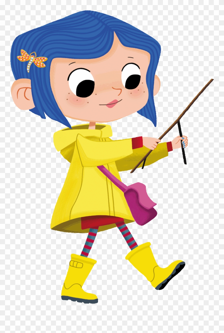 Coraline clipart graphic freeuse Little Coraline Fanart As A Tribute To One Of My Favorite ... graphic freeuse