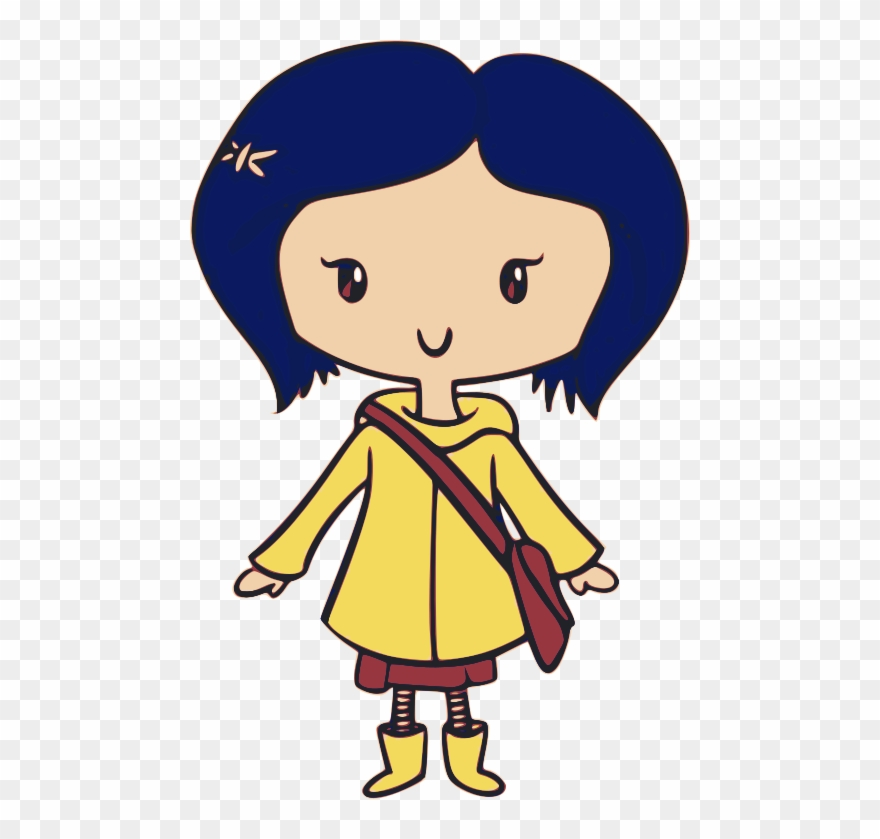 Coraline clipart image black and white Coraline Clipart (#3135951) - PinClipart image black and white