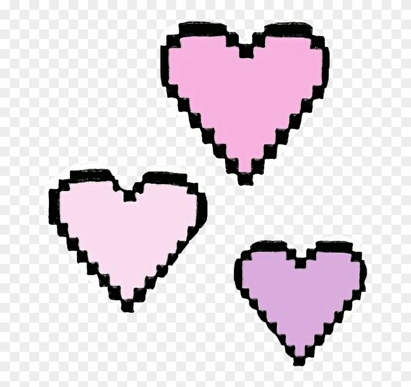 Corazones clipart tumblr image freeuse library Png Edit Tumblr Overlay Hearts Corazones - Small Heart Pixel Art ... image freeuse library
