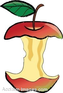 Core clipart jpg royalty free library Clip art of an apple core.   Clipart Panda - Free Clipart Images jpg royalty free library