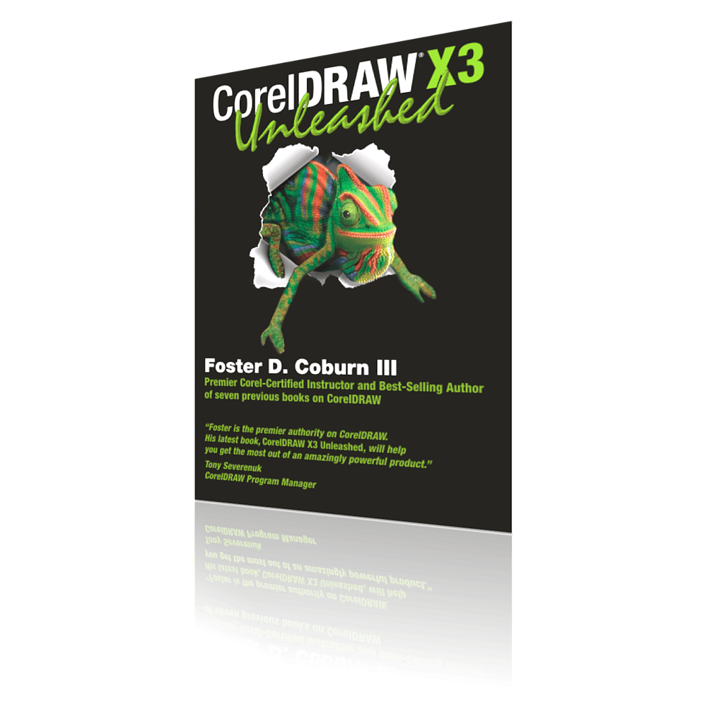 Corel draw 12 clipart book picture freeuse library CorelDRAW X3 Unleashed - CorelDRAW Unleashed picture freeuse library