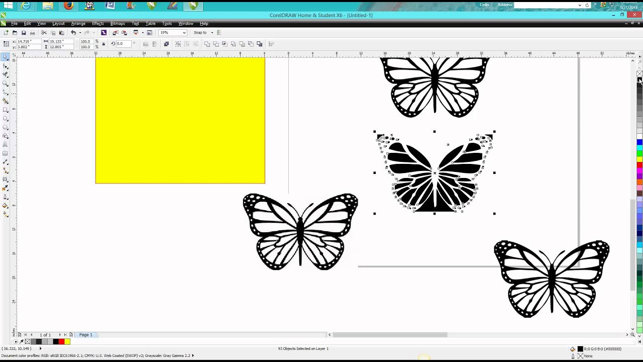 Corel draw clipart picture black and white Corel Draw Tips & Tricks Clip Art to Vector Art picture black and white