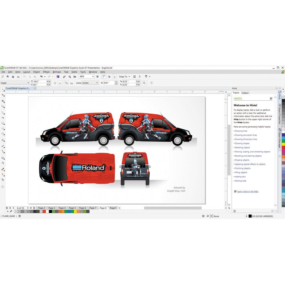 Corel draw x7 clipart download jpg free download CorelDraw Graphics Suite X7 for Windows (Download) jpg free download