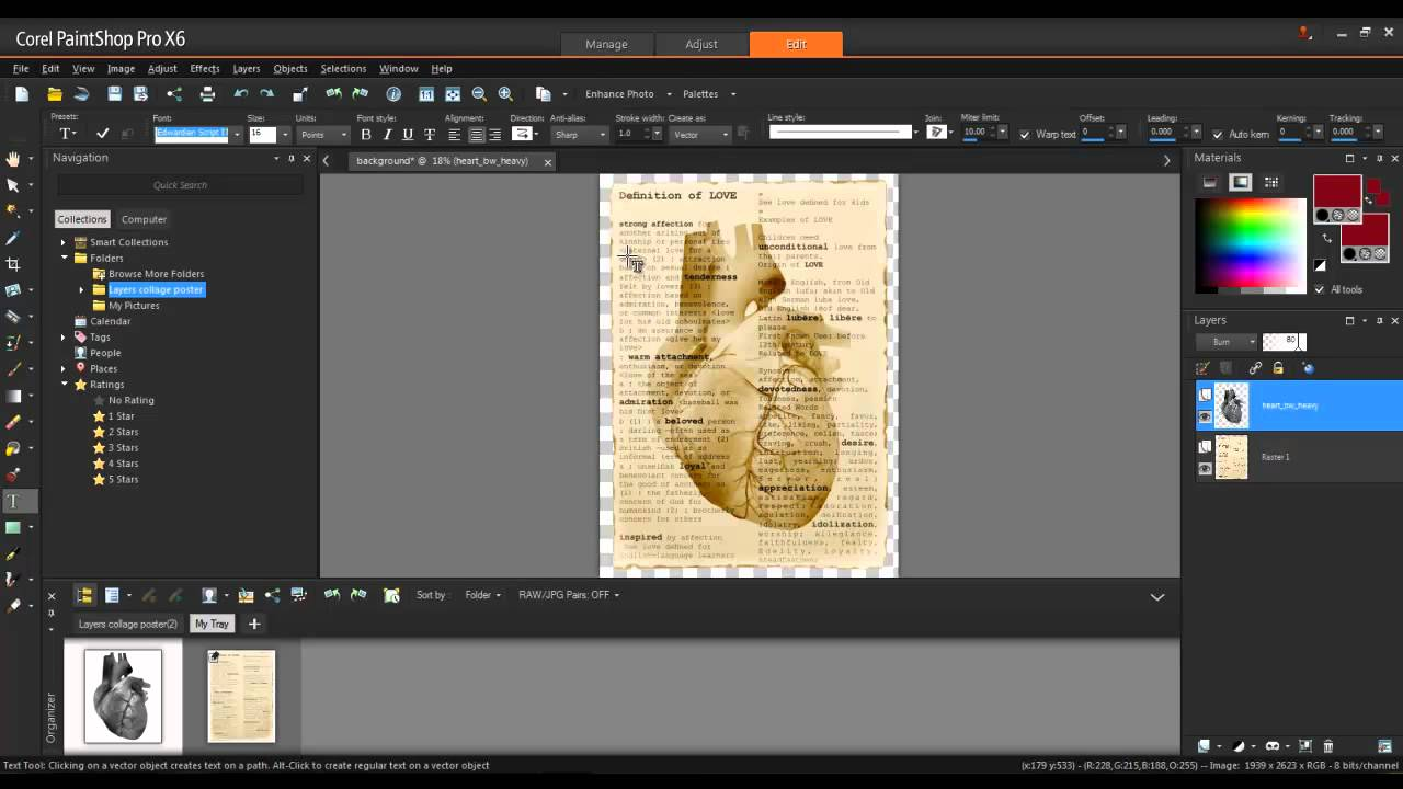 Corel paintshop pro cliparts picture download Creating a Multi-Layer Artistic Poster in Corel PaintShop Pro X6 picture download