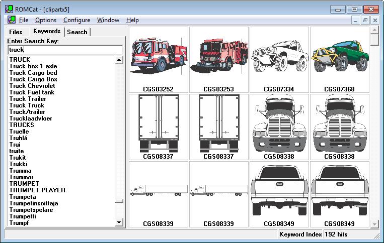 Coreldraw clipart cd jpg black and white library ROMCat Clip Art Utility - CorelDRAW Unleashed jpg black and white library
