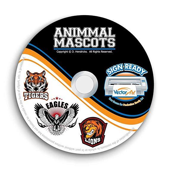 Coreldraw clipart cd jpg free Amazon.com: Animal Sports Mascot Clipart-Vector Clip Art Images-T ... jpg free