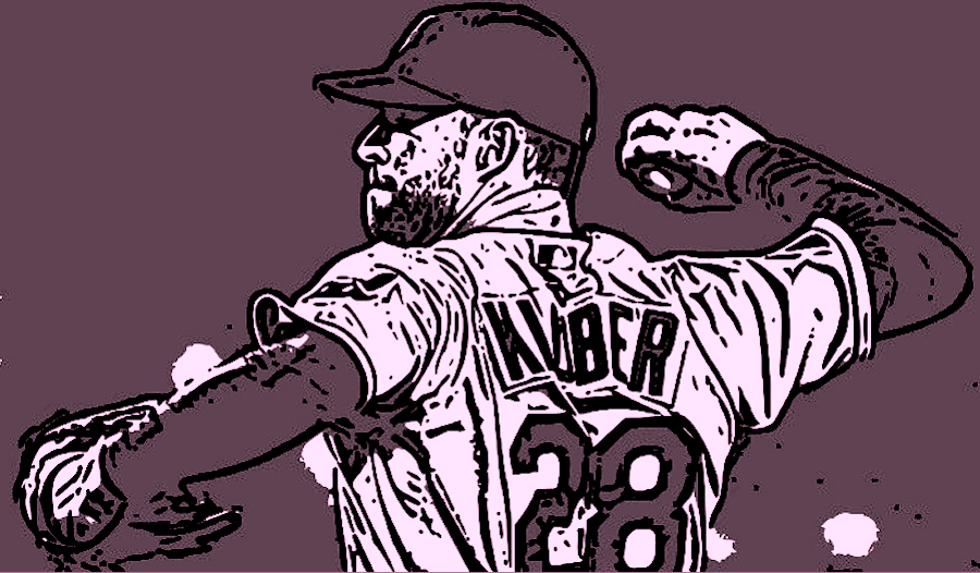 Corey kluber clipart picture black and white library What is the next adaptation of Kluber?: While We\'re Waiting ... picture black and white library