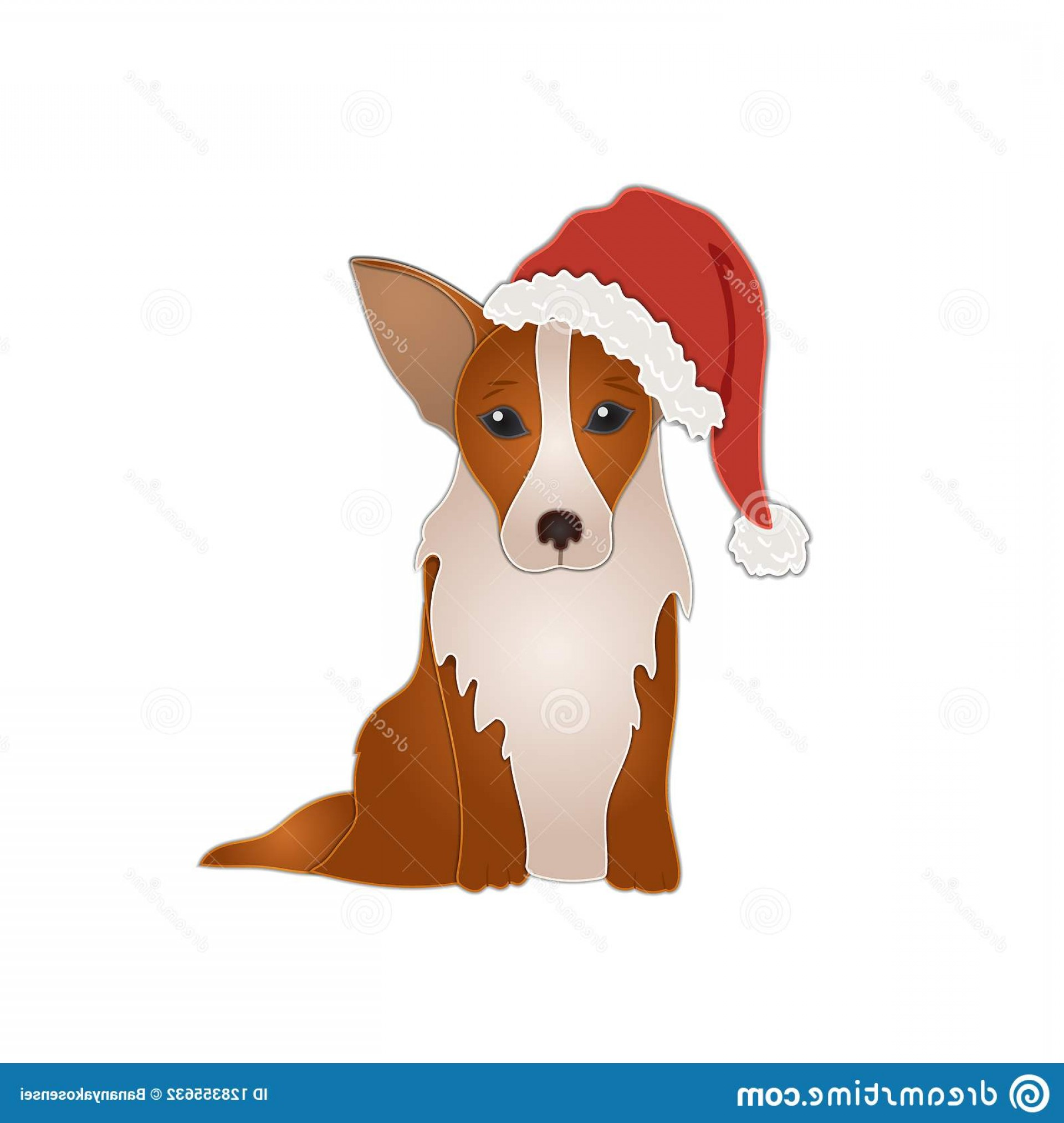 Corgi christmas hat clipart jpg library library Corgi Christmas Vector | SOIDERGI jpg library library