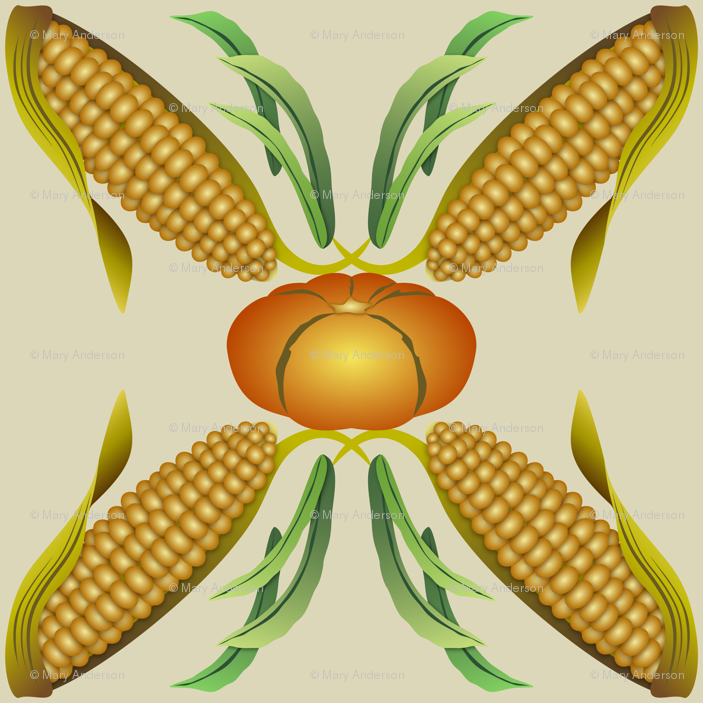 Corn beans and squash clipart png free download Maize, Beans and Squash - The Three Sisters - Beige wallpaper ... png free download