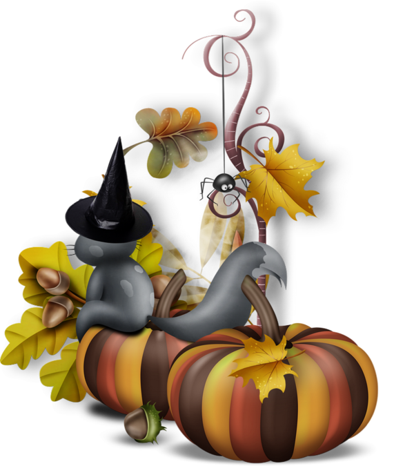 Corn pumpkin squash clipart clip transparent library Halloween, tube, chat, citrouilles, cluster - Pumpkins png ... clip transparent library