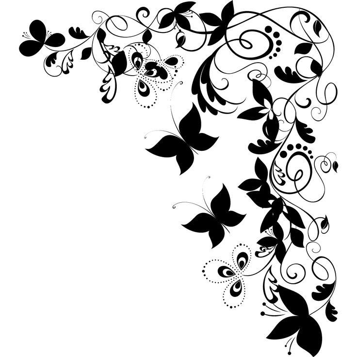 Corner butterflies clipart clipart free download Butterfly clip art corner - 15 clip arts for free download on EEN clipart free download