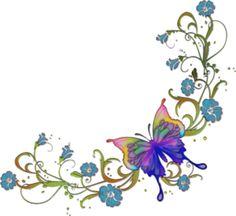 Corner butterflies clipart clip royalty free stock Corner Butterfly Png & Free Corner Butterfly.png Transparent Images ... clip royalty free stock