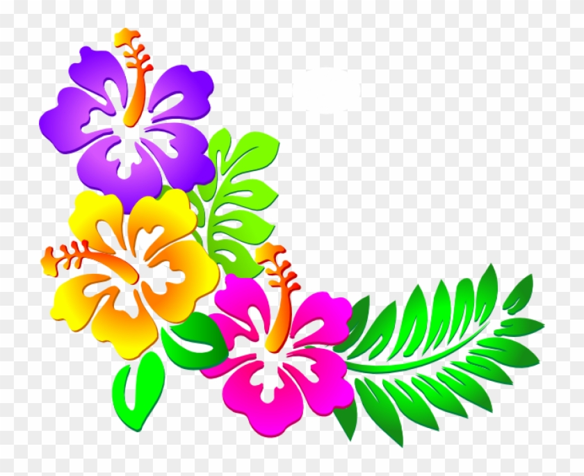 Corner butterflies clipart jpg royalty free stock Hawaiian Flowers Clipart , Png Download - Butterfly Corner Border ... jpg royalty free stock