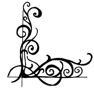Corner flourish clipart vector royalty free Free Corner Flourish, Download Free Clip Art, Free Clip Art on ... vector royalty free