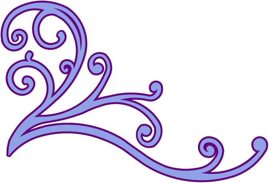 Corner flourish clipart picture transparent stock Corner Flourish Clip Art N2 free image picture transparent stock