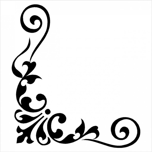 Corner patterns clipart image royalty free stock Corner clipart - ClipartFest image royalty free stock