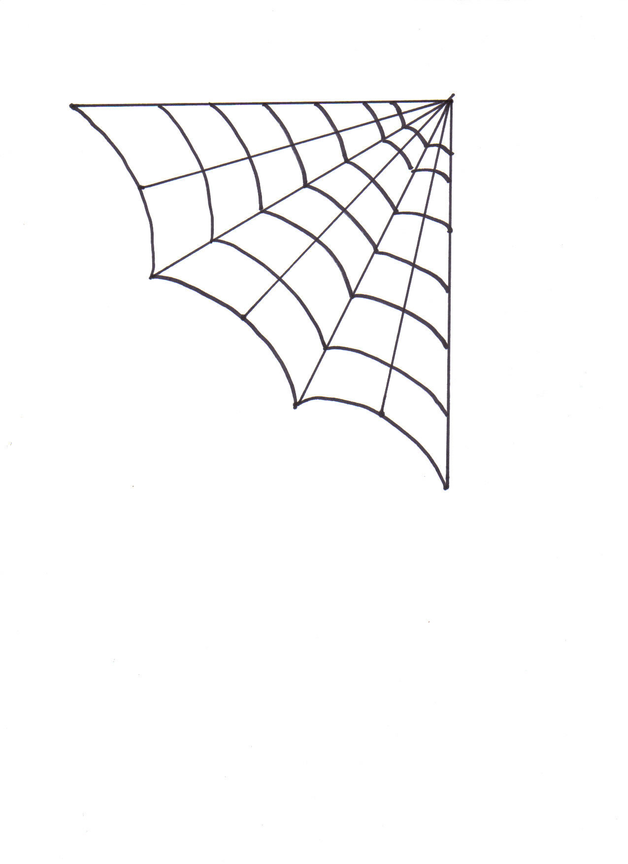 Corner spider web clipart black and white library Spider webrner clip art furthermore together we can do it clip ... black and white library