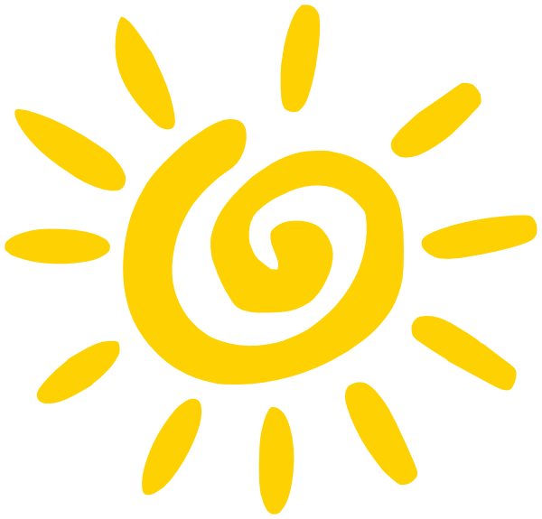 Corner sun clipart image royalty free Swirl clipart sun ~ Frames ~ Illustrations ~ HD images ~ Photo ... image royalty free
