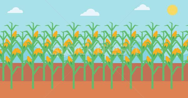 Cornfield clipart clip royalty free stock Cornfield Clipart corn harvest 24 - 600 X 313 Free Clip Art ... clip royalty free stock