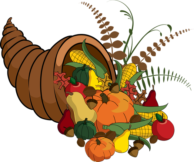 Fancy turkey clipart vector download 2013 Thanksgiving Clip Art: Fall Cornucopia | 2015 Programs ... vector download