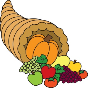 Cornucpia clipart svg royalty free download Cornucopia Clip Art Free | Clipart Panda - Free Clipart Images svg royalty free download