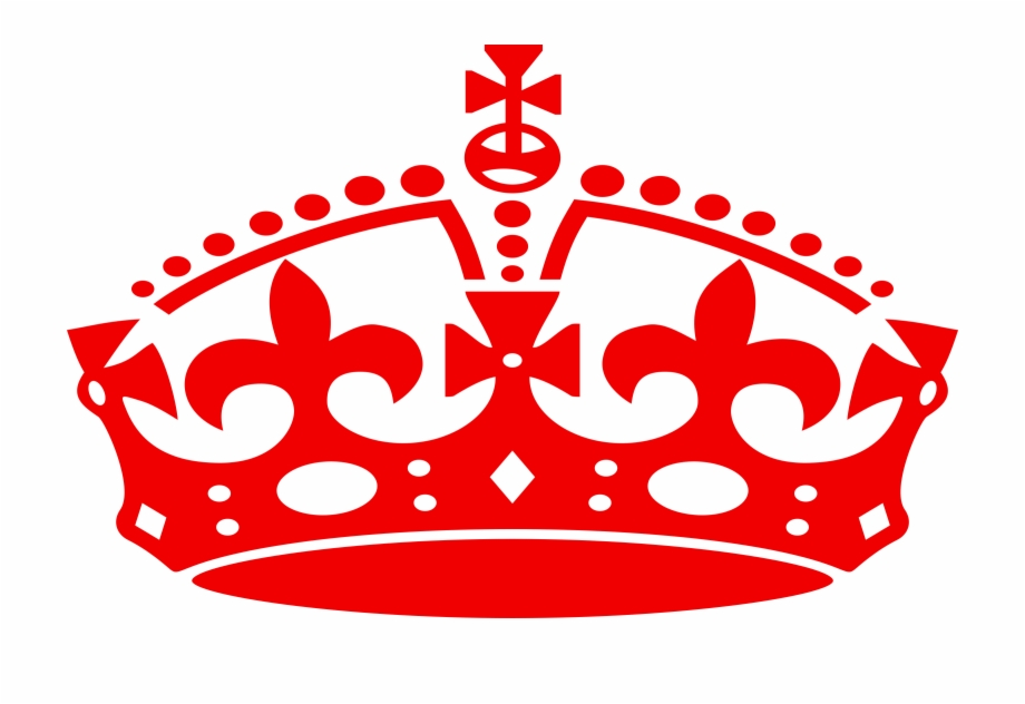 Corona vector clipart freeuse library Red Clipart Princess Crown - Corona Vector Keep Calm, HD Png ... freeuse library