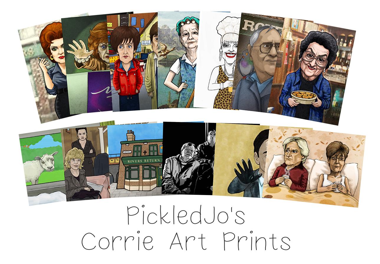 Coronation street clipart clipart royalty free Coronation Street Art and Caricatures - Pickledjo - Cartoon ... clipart royalty free