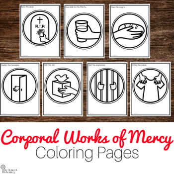 Corporal works of mercy feed the hungry clipart png download Corporal Works Of Mercy Worksheets & Teaching Resources   TpT png download