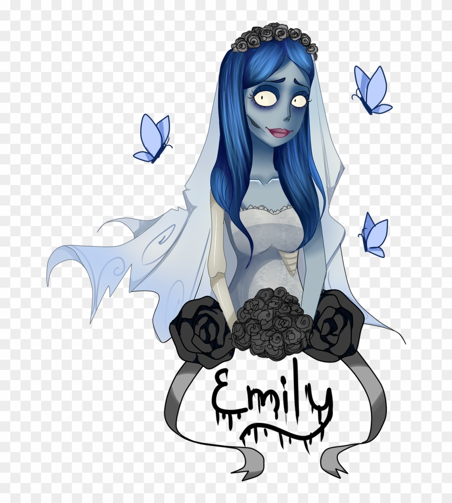 Corpse bride dog clipart svg download The Corpse Bride - Corpse Bride Emily Transparent Clipart - Clipart ... svg download