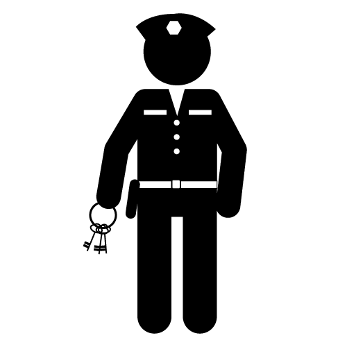 Correctional clipart graphic freeuse download Correctional officer clipart - Clip Art Library graphic freeuse download