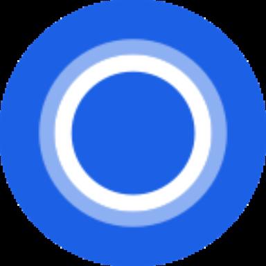 Cortana logo clipart graphic library library Microsoft Cortana Digital assistant 3.3.1.2573 by Microsoft ... graphic library library