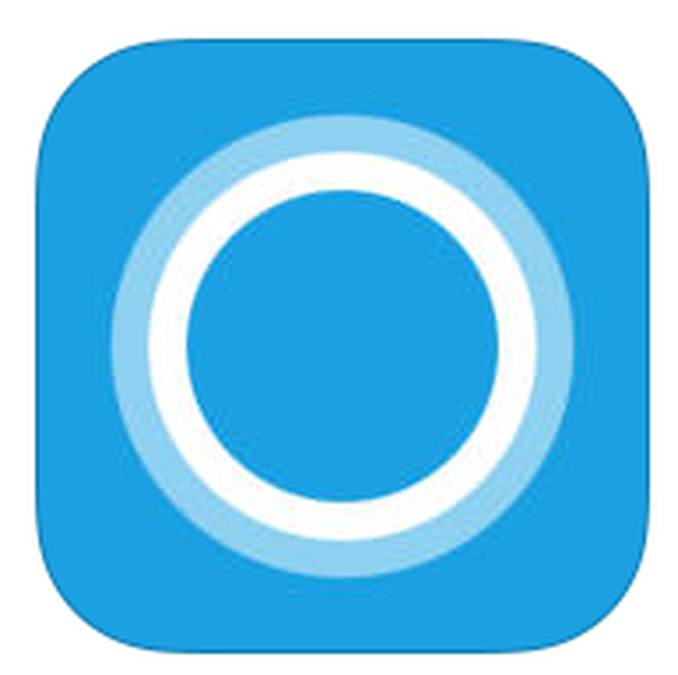 Cortana logo clipart graphic royalty free download Microsoft\'s Cortana apps officially available on iOS, Android ... graphic royalty free download
