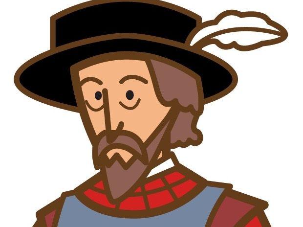 Hernan cortes clipart royalty free Spanish Biography Bundle: 4 Conquistadores: De Soto, De León, Cortés, Colón royalty free