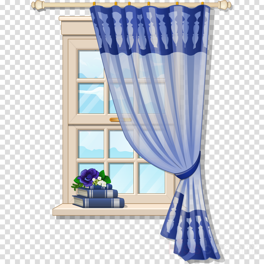 Cortina clipart png stock Design Background clipart - Window, Curtain, Drawing, transparent ... png stock
