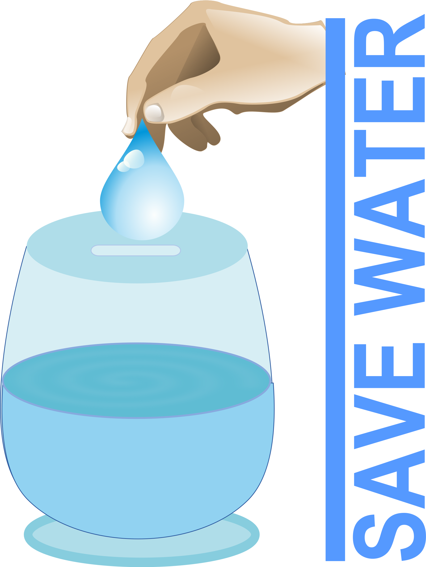 Water conseervation clipart image transparent library Clipart - Save Water | Water signs in 2019 | Save water, Water signs ... image transparent library