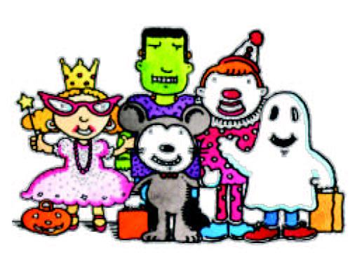 Costume parade clipart graphic transparent Halloween Costume Parade Thursday October 31st @ 8:30 A - Free Clipart graphic transparent