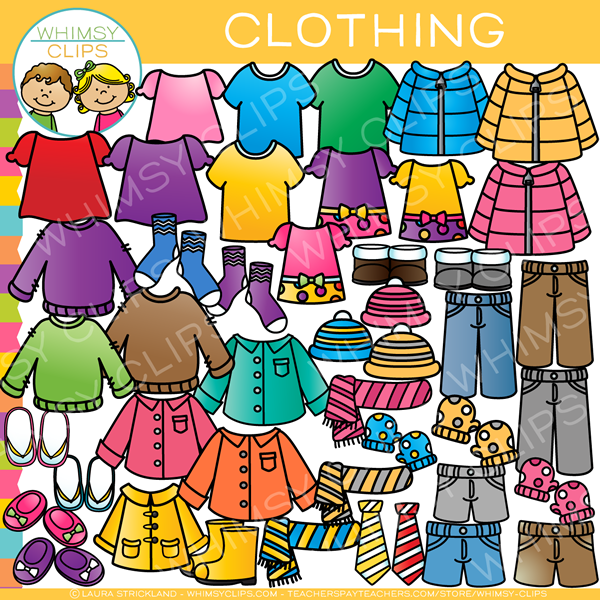 Cothes clipart jpg library stock Clothing Clip Art jpg library stock