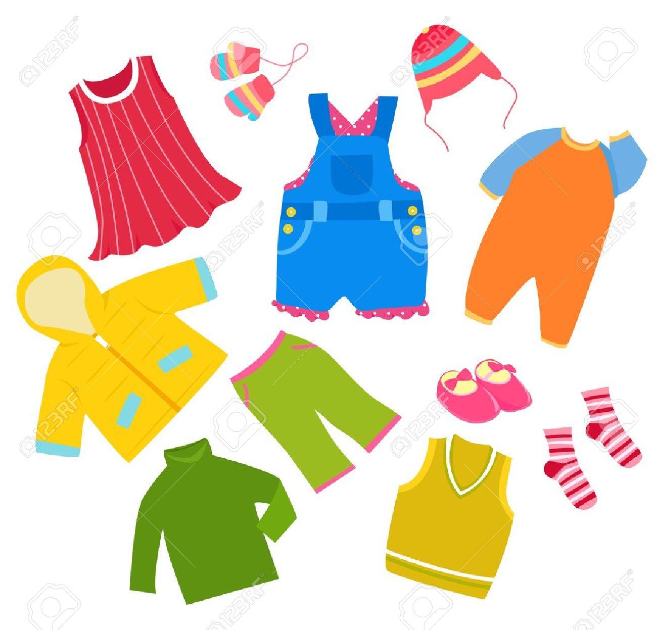 Cothes clipart clipart download Kids clothes clipart 7 » Clipart Station clipart download