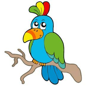Cotorra clipart graphic transparent download Parrot Black And White | Free download best Parrot Black And White ... graphic transparent download