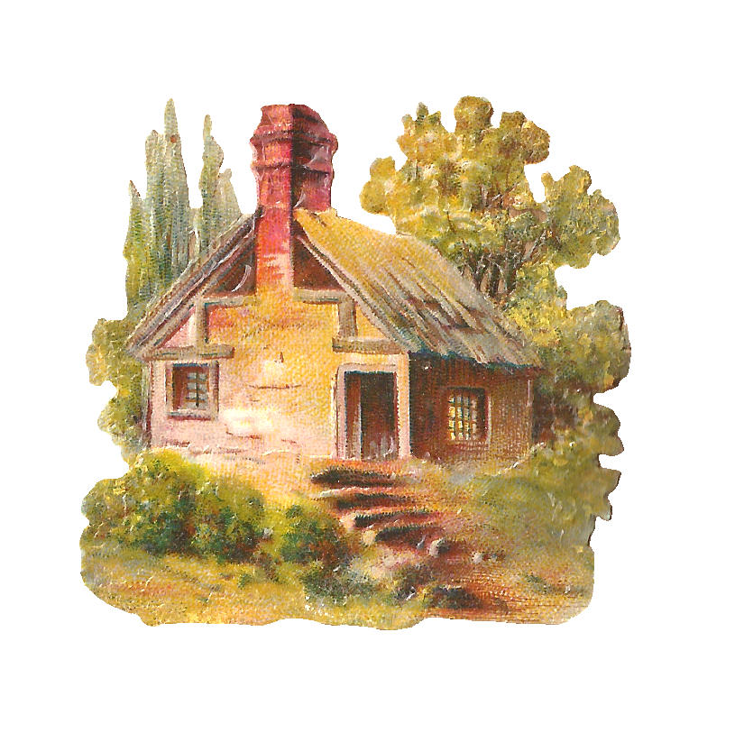 Free house painting clipart image royalty free download Free Clipart Cottages image royalty free download