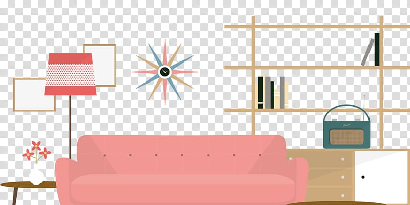 Couch clipart graphic royalty free download Interior design illustrated Interior Design Services, illustrator ... royalty free download