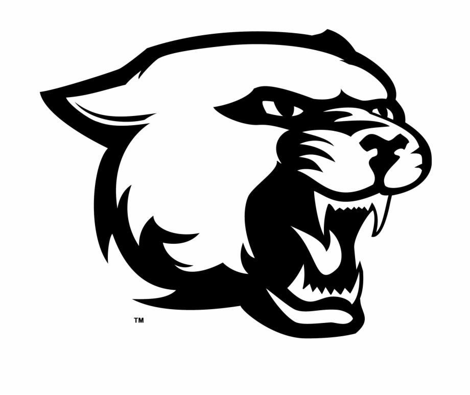 Cougar cartoon black and white body clipart easy vector black and white download Free Panther Head Clipart Image - Black Panther Easy Drawing Animal ... vector black and white download