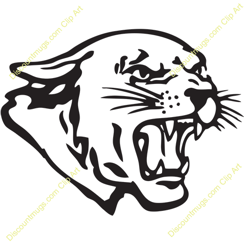 Free panther head clipart picture transparent 23+ Cougar Head Clip Art | ClipartLook picture transparent