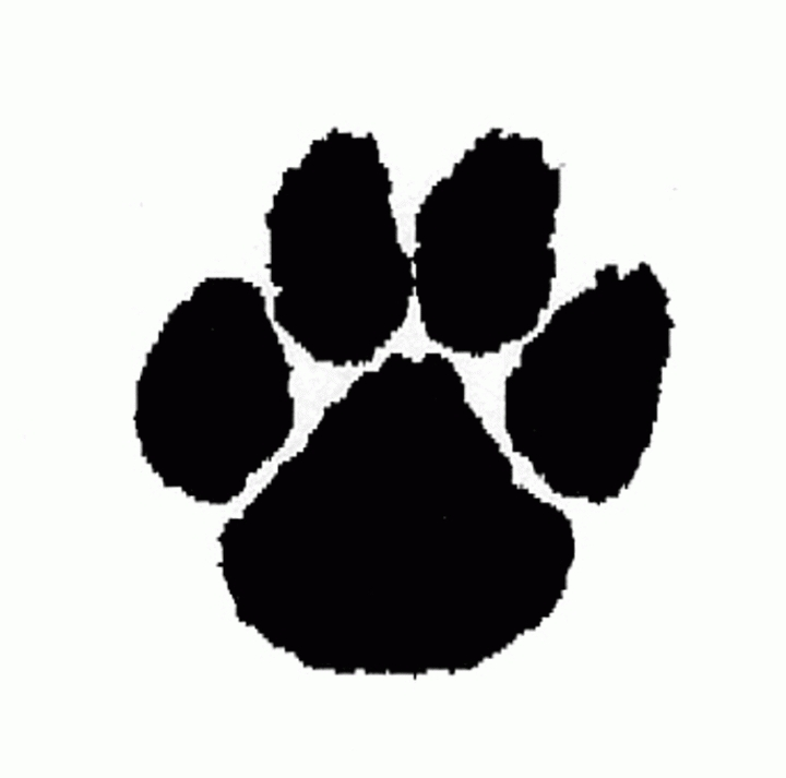 Cougar paw print clipart picture library download Download Cougar Paw Print Clipart Clipart PNG Free | FreePngClipart picture library download