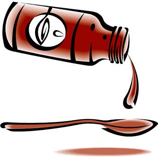 Cough syrup clipart black and white Cough Syrup Cliparts - Cliparts Zone black and white