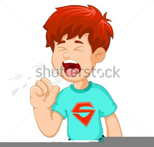 Coughing clipart free banner black and white download Child Coughing Clipart | Free Images at Clker.com - vector clip art ... banner black and white download
