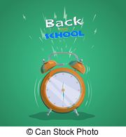 Countdown back to school clipart picture library download Back school countdown Vector Clipart Illustrations. 23 Back school ... picture library download